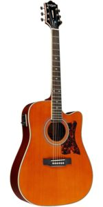 Epiphone DR-500MCE Acoustic, Electric (Dreadnought), Natural