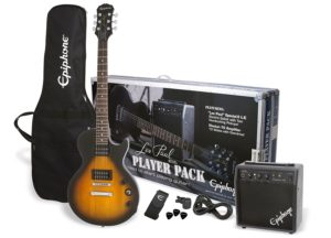 Epiphone Les Paul Electric Guitar Player Package,